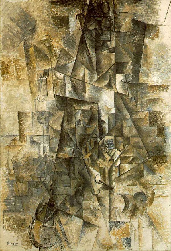 The Accordionist, 1911 by Pablo Picasso