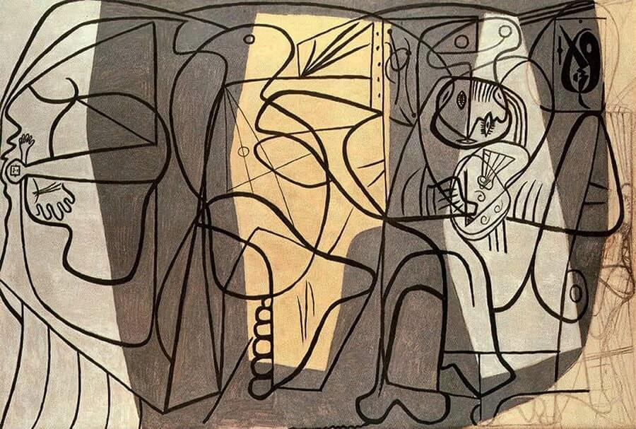 Artist and His Model, 1926 by Pablo Picasso