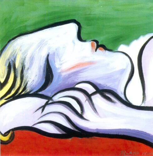 Asleep, 1932 by Pablo Picasso
