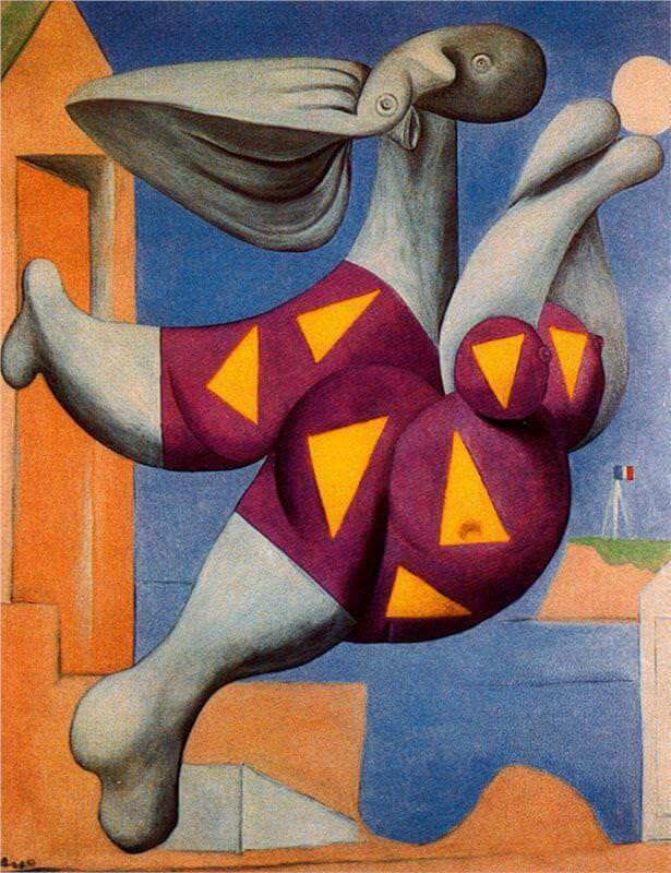 Bather with Beach Ball, 1932 by Pablo Picasso