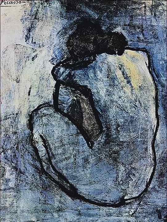 from Lennox picasso s blue nude