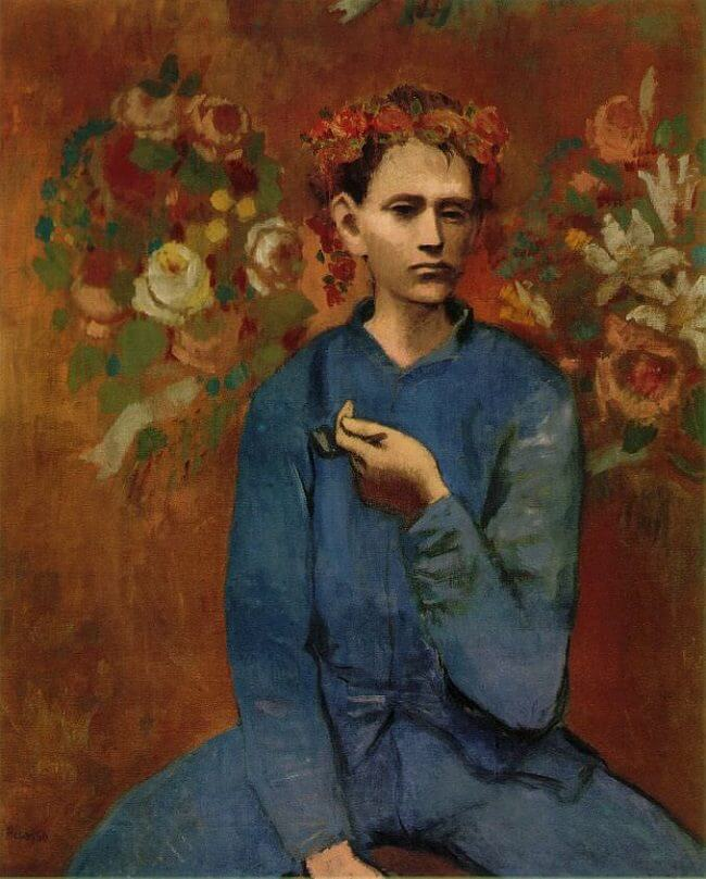 Boy with a Pipe, 1905 by Pablo Picasso