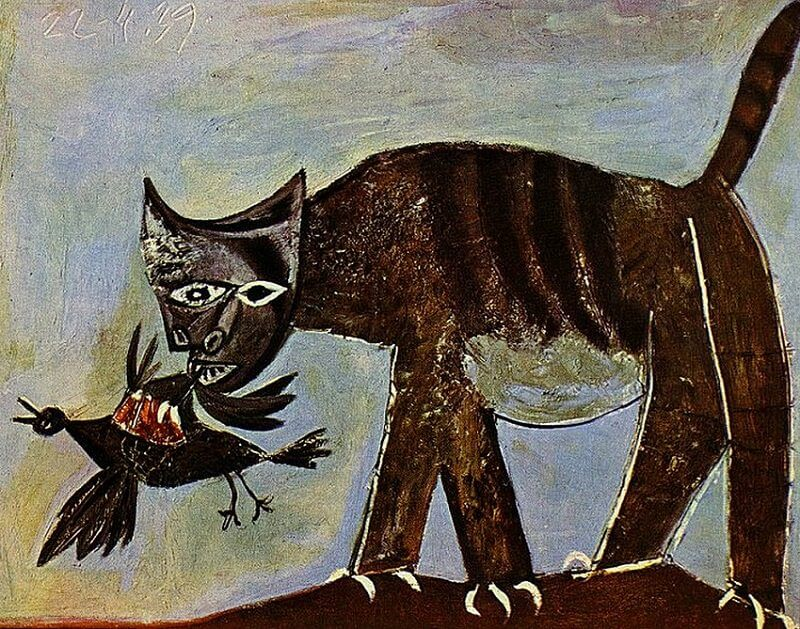 Image result for picasso cat