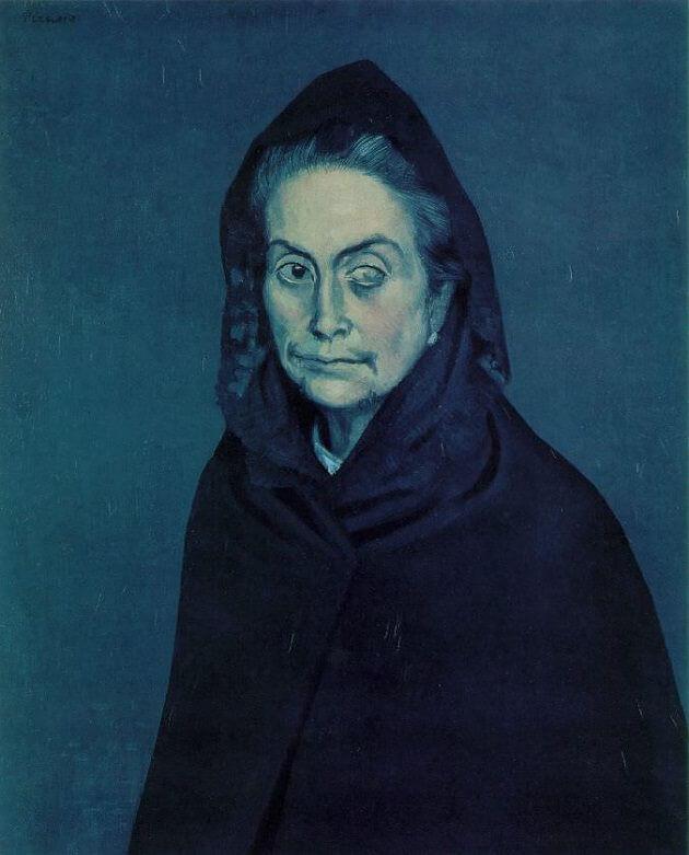 Pablo Picasso Blue Period 53