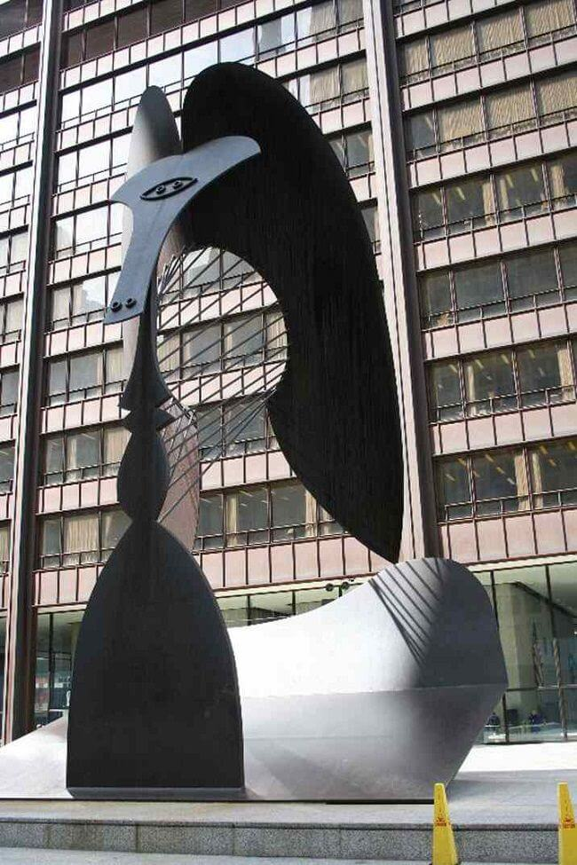 Chicago Picasso, 1962-64by Pablo Picasso