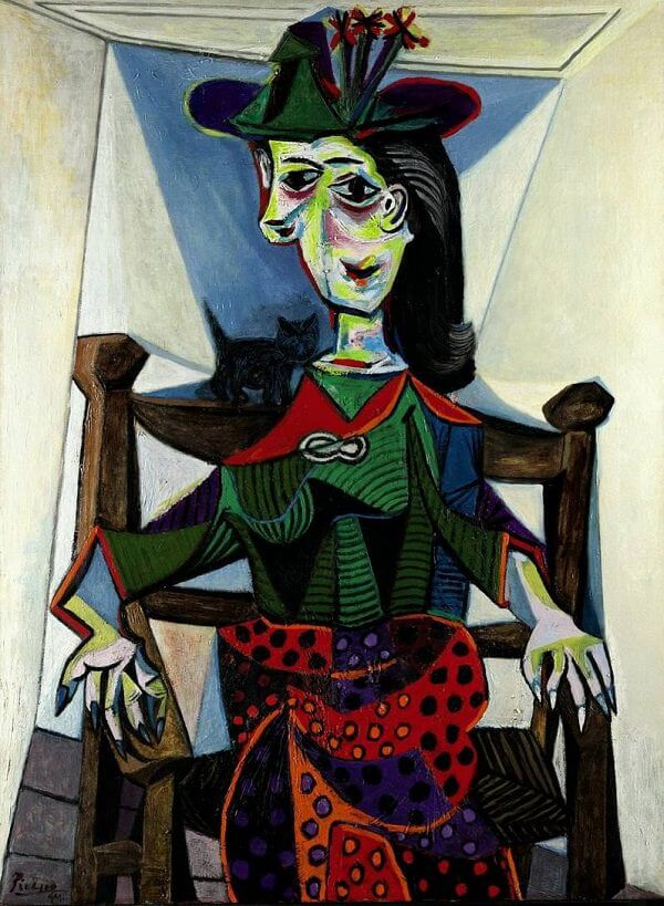 Dora Maar au Chat, 1941 by Pablo Picasso