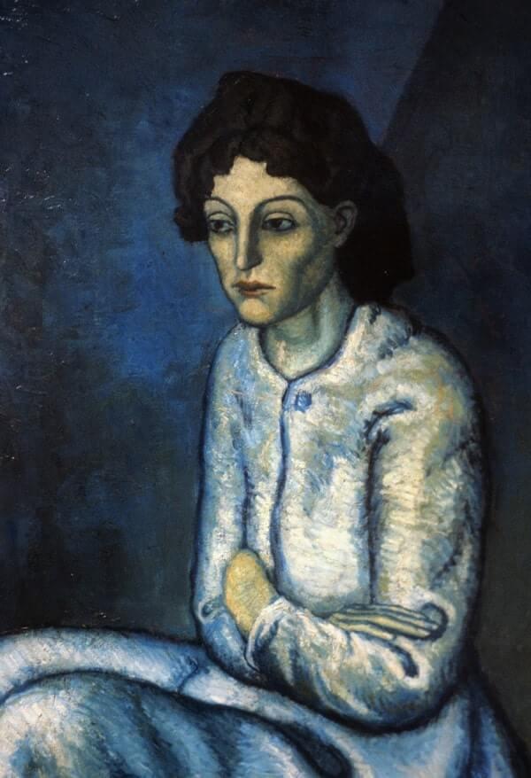 Femme aux Bras Croisés, 1902 by Pablo Picasso