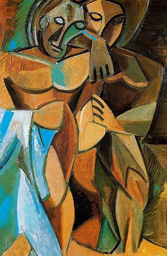 Friendship, 1908 by Pablo Picasso