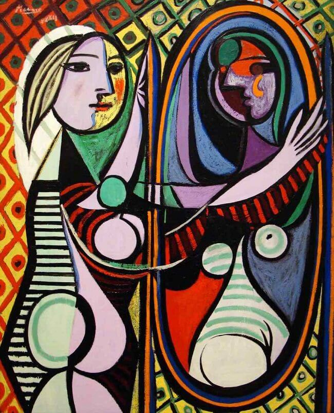 girl before a mirror Girl Before A Mirror by Pablo Picasso girl before a mirror