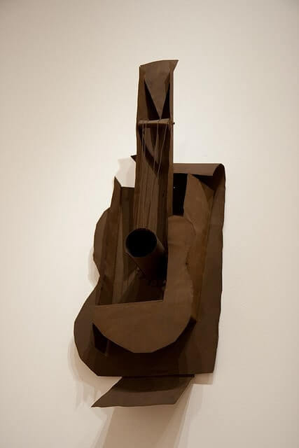 Guitar, 1914 by Pablo Picasso