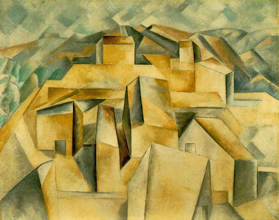 House on the Hill, 1902 by Pablo Picasso