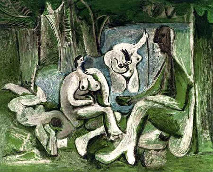 Luncheon on the Grass, 1961 by Pablo Picasso