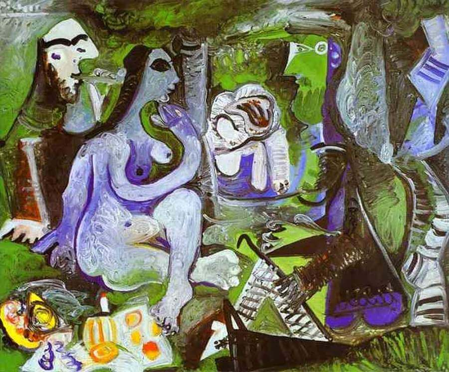 Luncheon on the Grass by Pablo Picasso