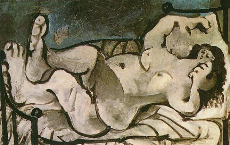 Lying Female Nude, 1965 by Pablo Picasso