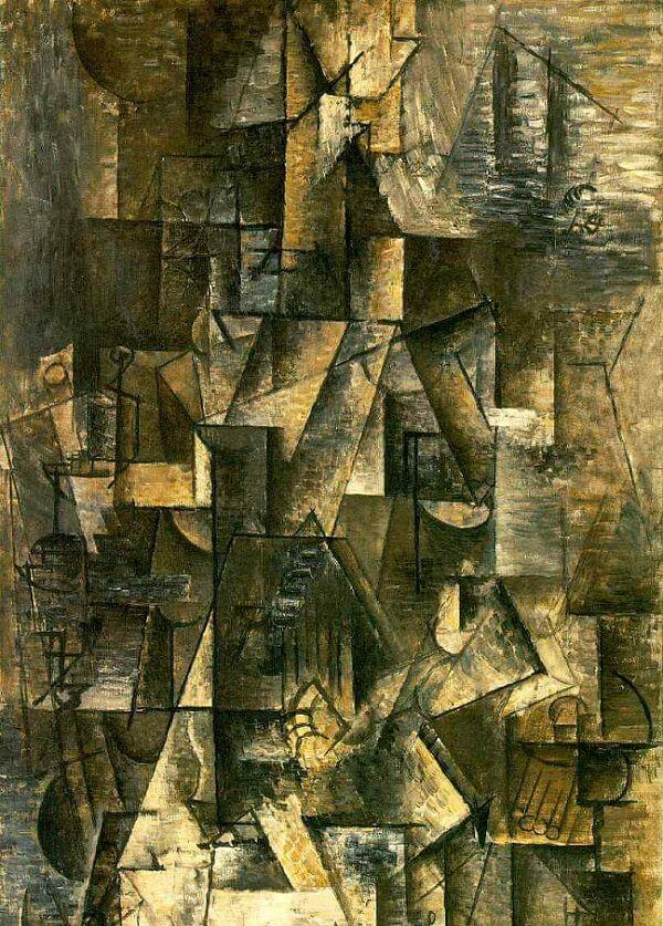 Image result for picasso cubist