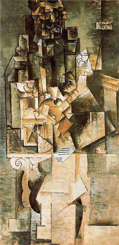 Man with a Guitar, 1911 by Pablo Picasso