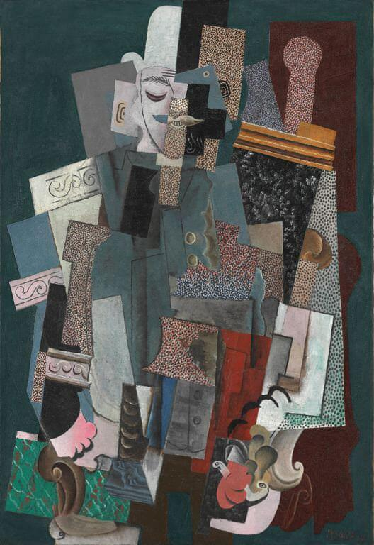 Man with a Pipe, 1915 by Pablo Picasso