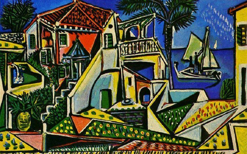 Mediterranean Landscape, 1953 by Pablo Picasso