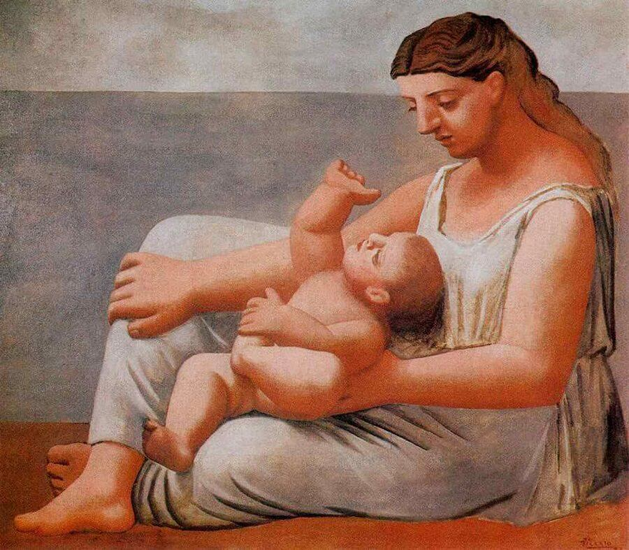 Mother and Child, 1921 by Pablo Picasso