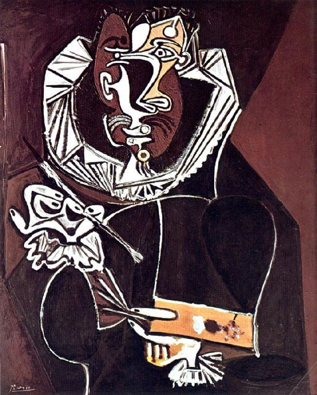 Portrait of a Painter, after El Greco, 1950 by Pablo Picasso