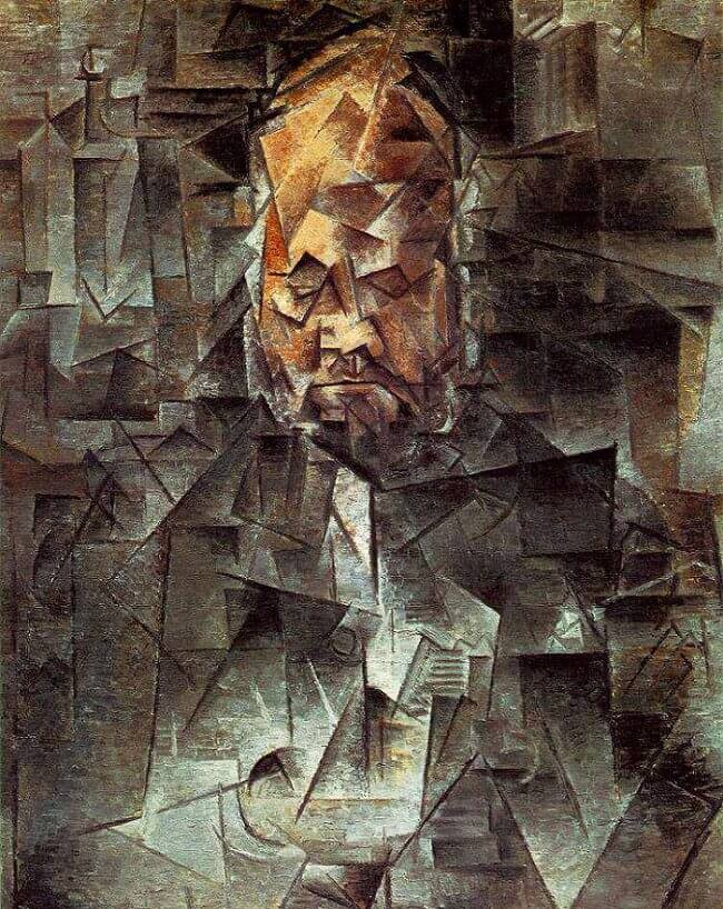 Portrait of Ambroise Vollard, 1910 by Pablo Picasso