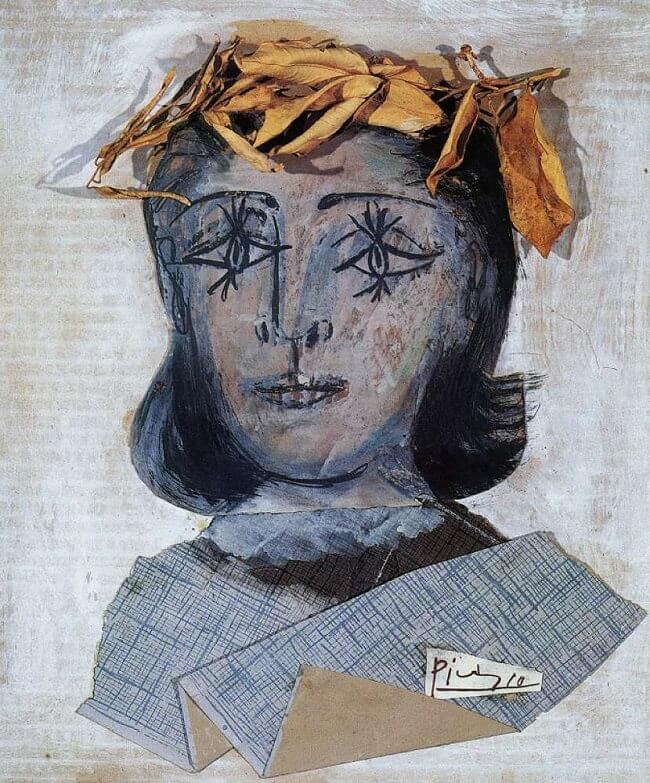 Portrait of Dora Maar, 1941 by Pablo Picasso