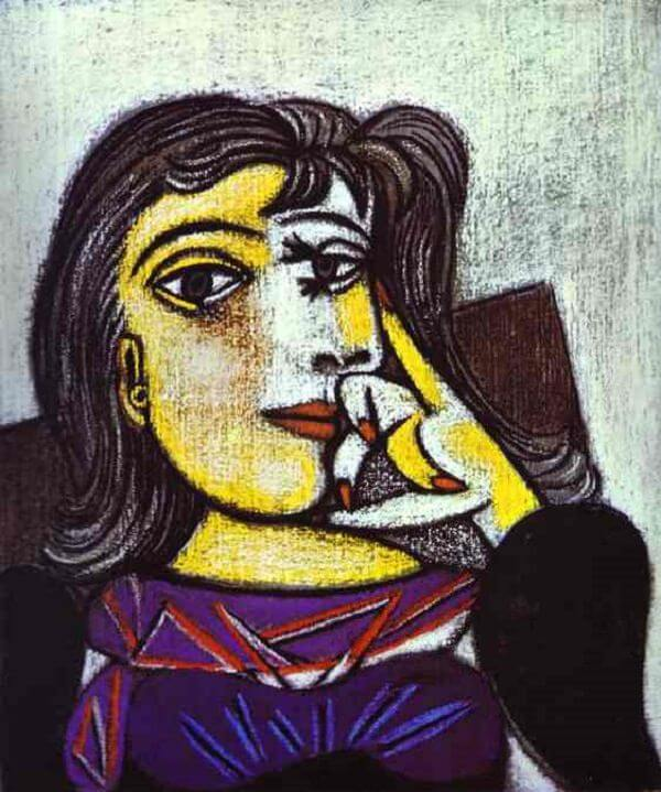 Portrait of Dora Maar, 1937 by Pablo Picasso