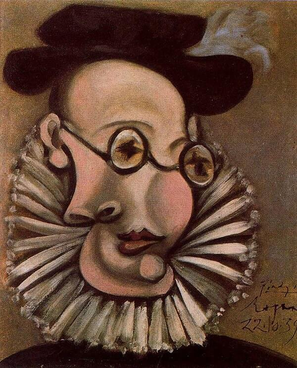 Portrait of Sabartes, 1939 by Pablo Picasso