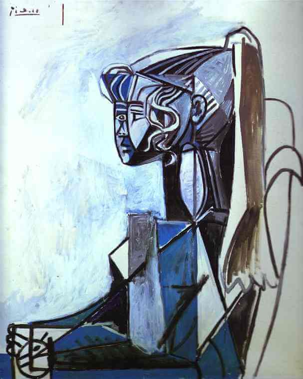 Portrait of Sylvette, by Pablo Picasso