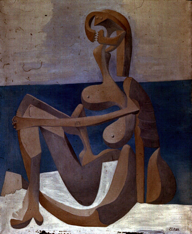 Seated Bather, 1930 by Pablo Picasso