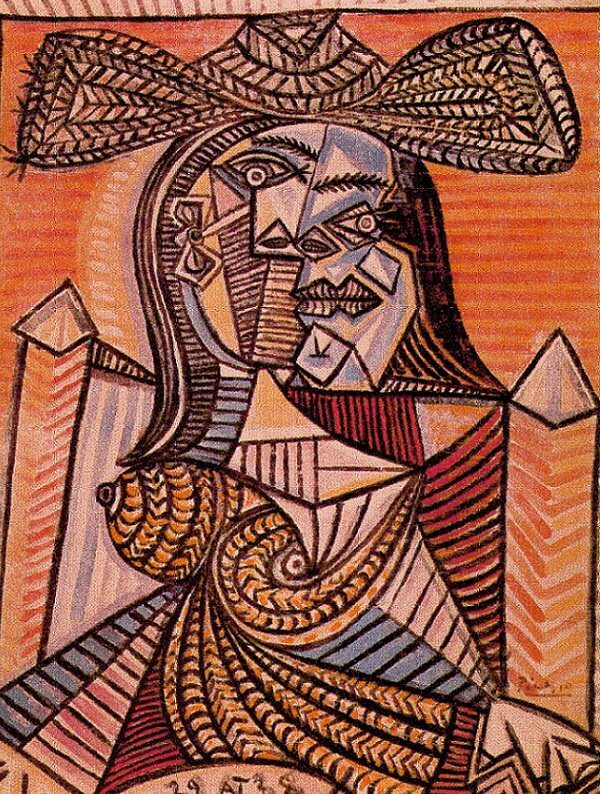 Seated Woman, 1938 by Pablo Picasso