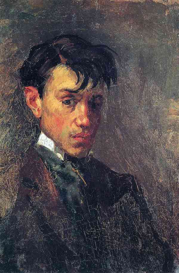 Self Portrait, 1896 by Pablo Picasso