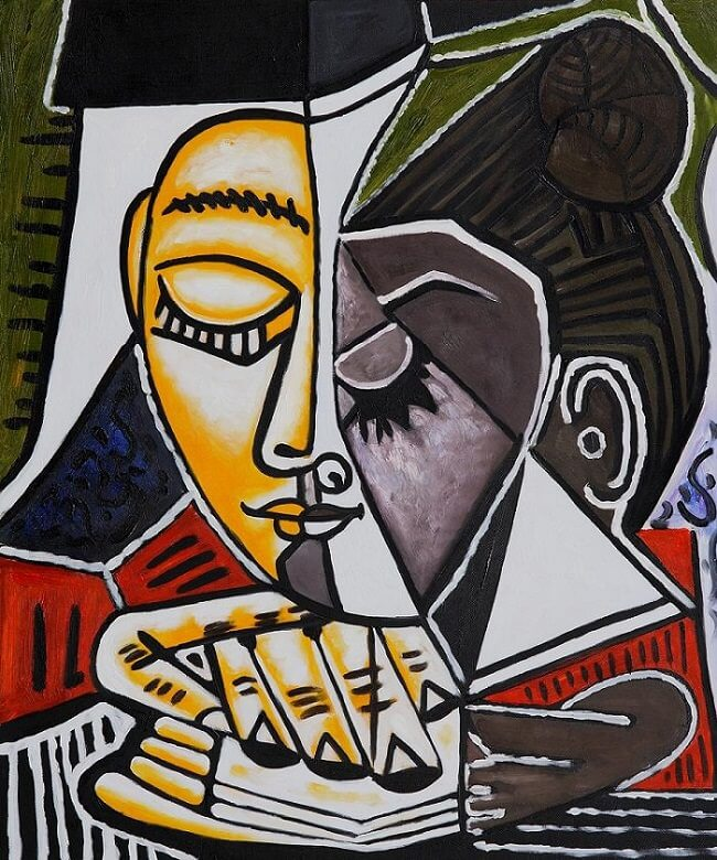 cubism the weeping woman essay Pablo picasso gallery of paintings and sculptures,  woman with arms crossed,  pablo picasso analytic cubism period of art.