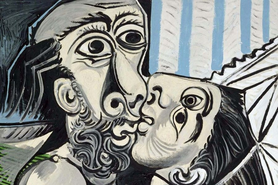 The Kiss, 1969 by Pablo Picasso