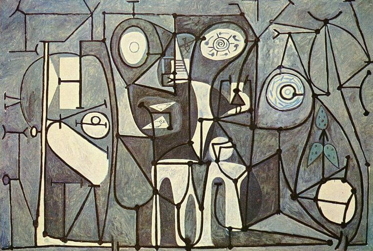 The Kitchen, 1948 by Pablo Picasso