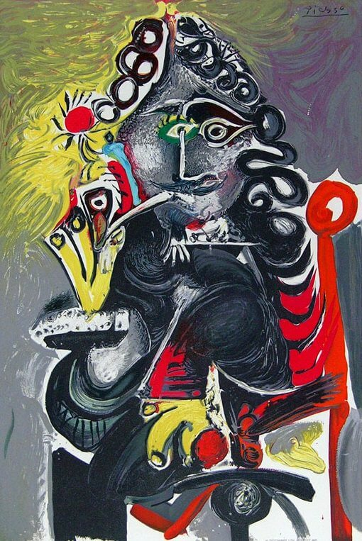 The Musketeer, 1967  by Pablo Picasso