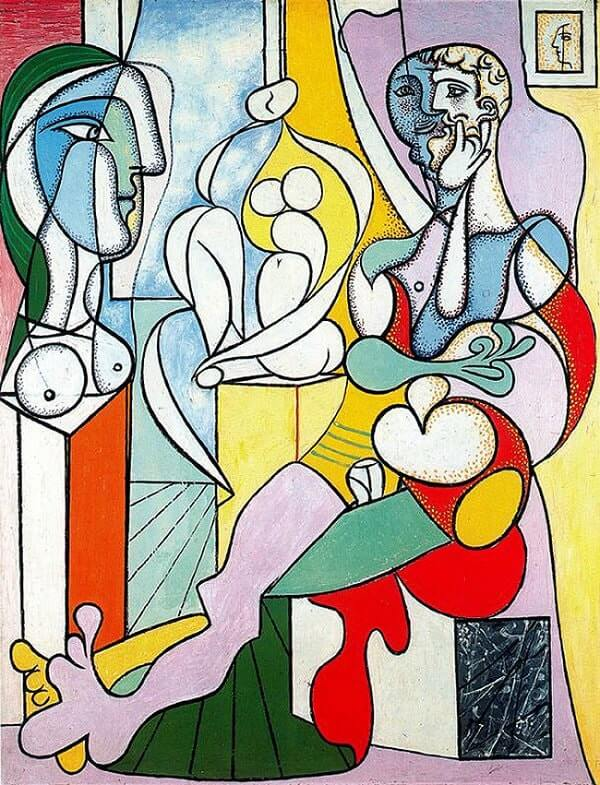 The Sculptor, 1931 by Pablo Picasso
