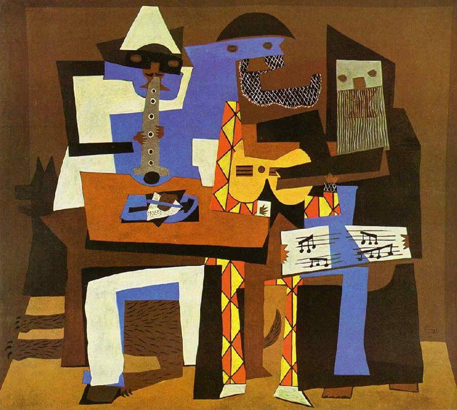 Pablo Picasso The Musicians
