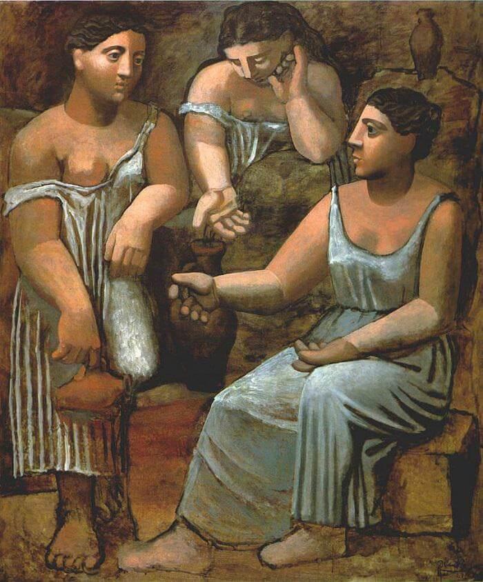 Three Women at the Spring, 1921 by Pablo Picasso
