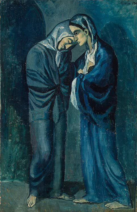 The Two Sisters, 1902 by Pablo Picasso