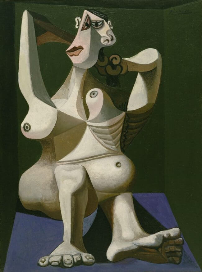 Woman Dressing Her Hair, 1940 by Pablo Picasso