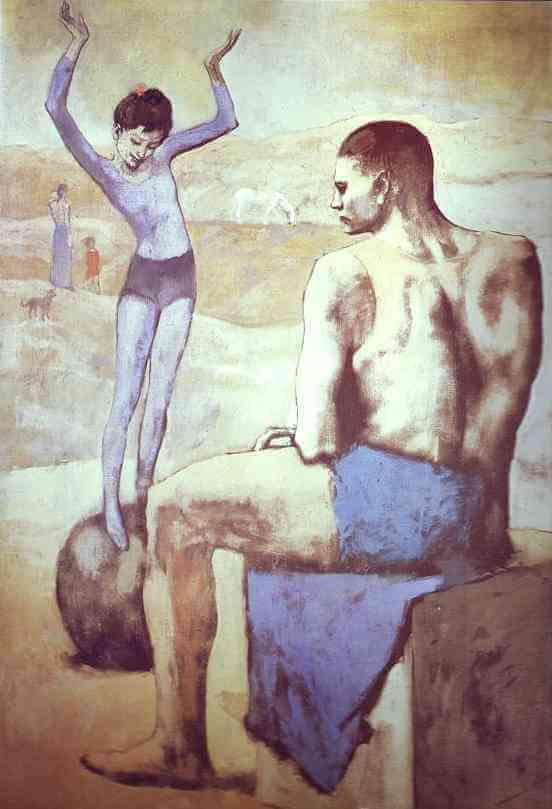 Young Acrobat on a Ball, 1905 by Pablo Picasso