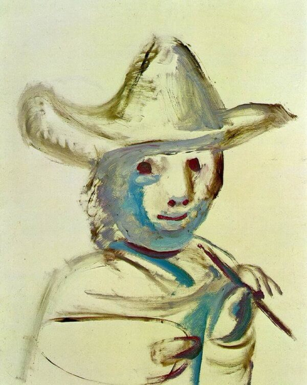 Young Painter, 1971 by Pablo Picasso