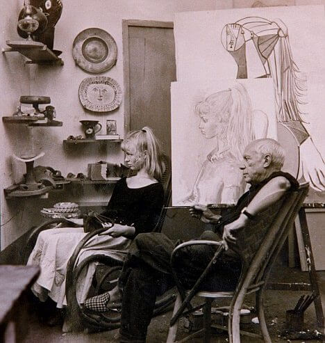 Picasso and Sylvette